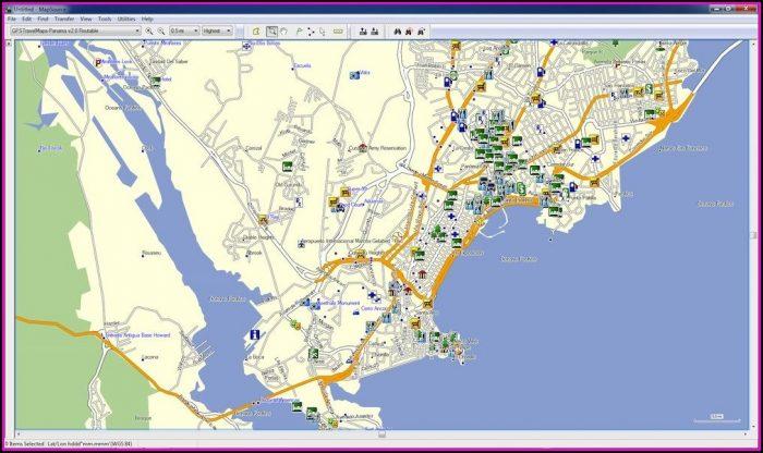 Garmin Maps Central America