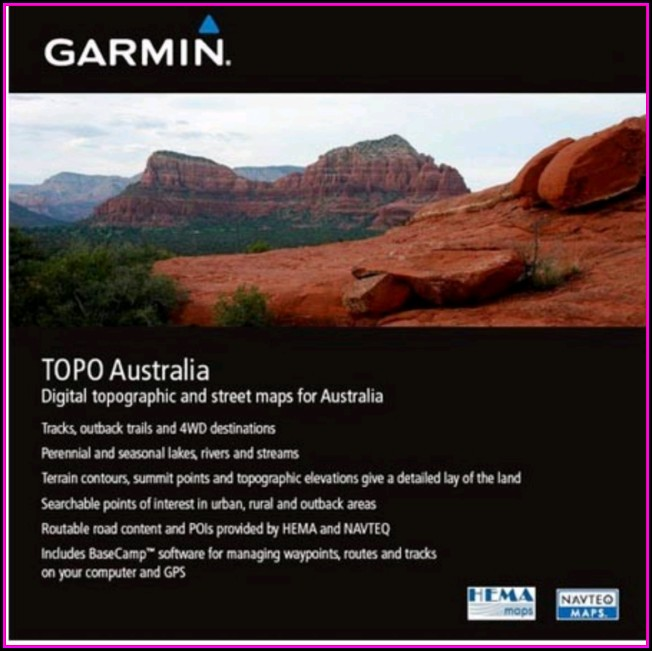 Garmin Topo Maps Australia & Nz