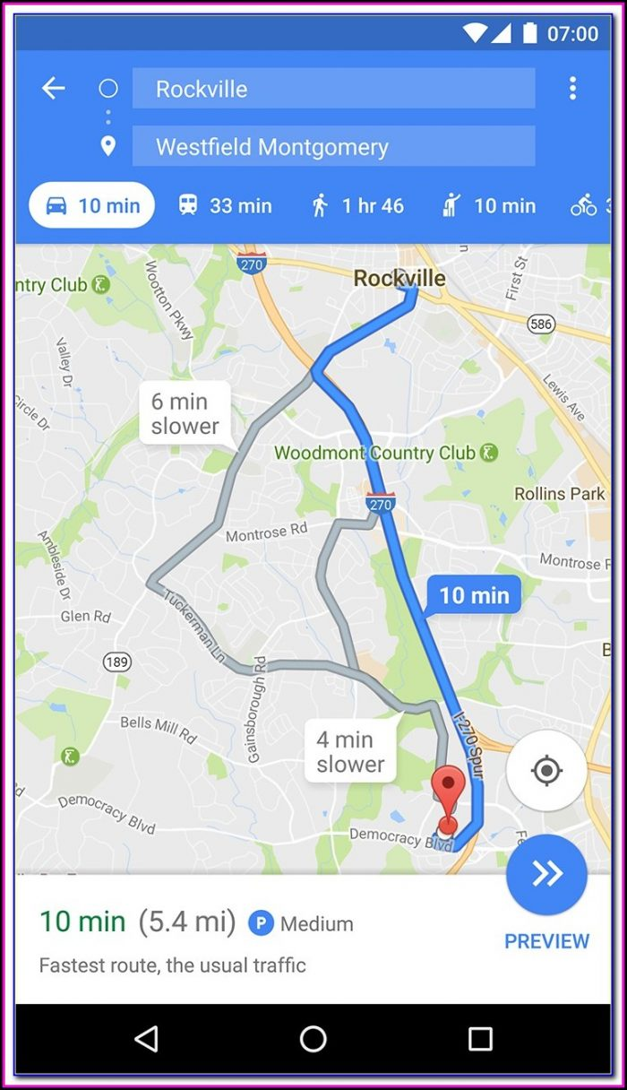 Google Maps With Gps Tracker For Mobile