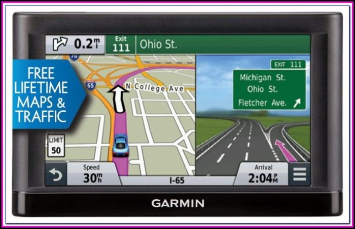 Gps With Free Lifetime Map And Traffic Updates