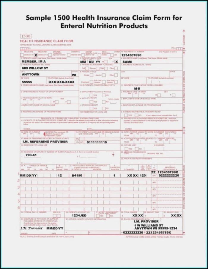 Hcfa 1500 Form Instructions 2016