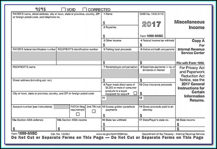 How To Make A 1099 Form