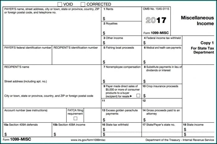 How To Make A 1099 Misc Form
