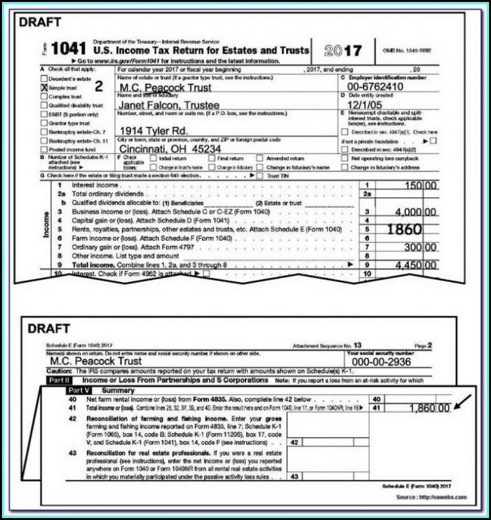 Income Tax Forms 1040ez