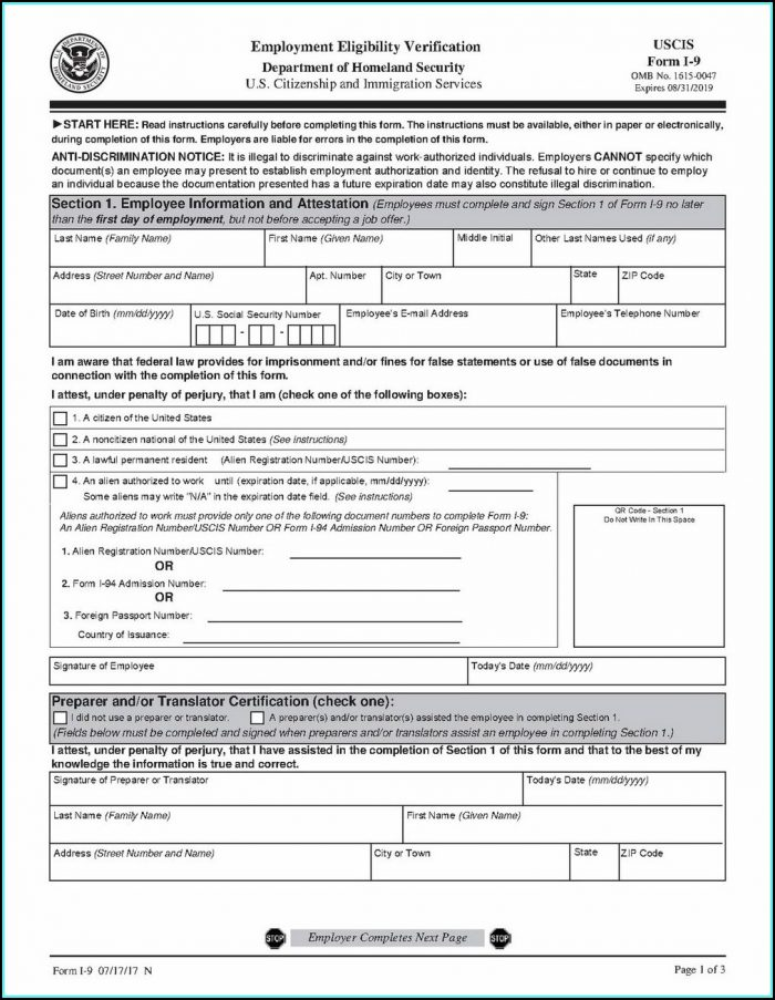 Irs Fillable Forms W 9