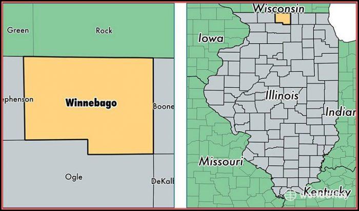 Map Of Winnebago County Il