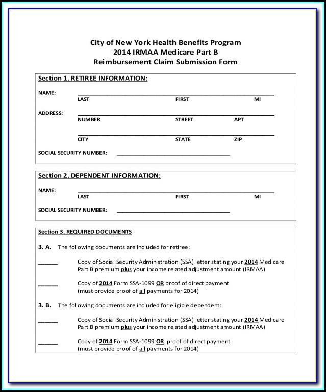 Medicare A Application Form