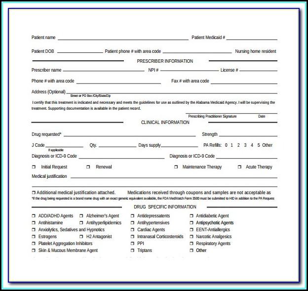 Medicare Part B Prior Authorization Form For Mri