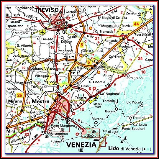 Michelin Map Of Italy Amazon