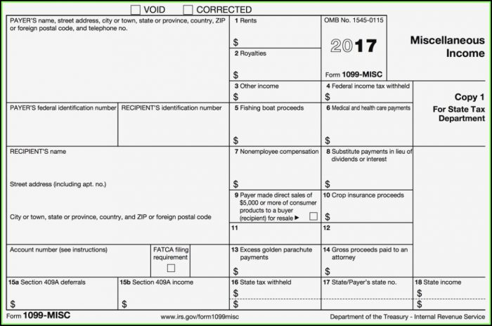 Order 1099 Misc Tax Forms