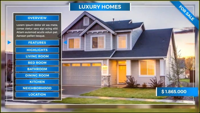 Real Estate Slideshow Templates