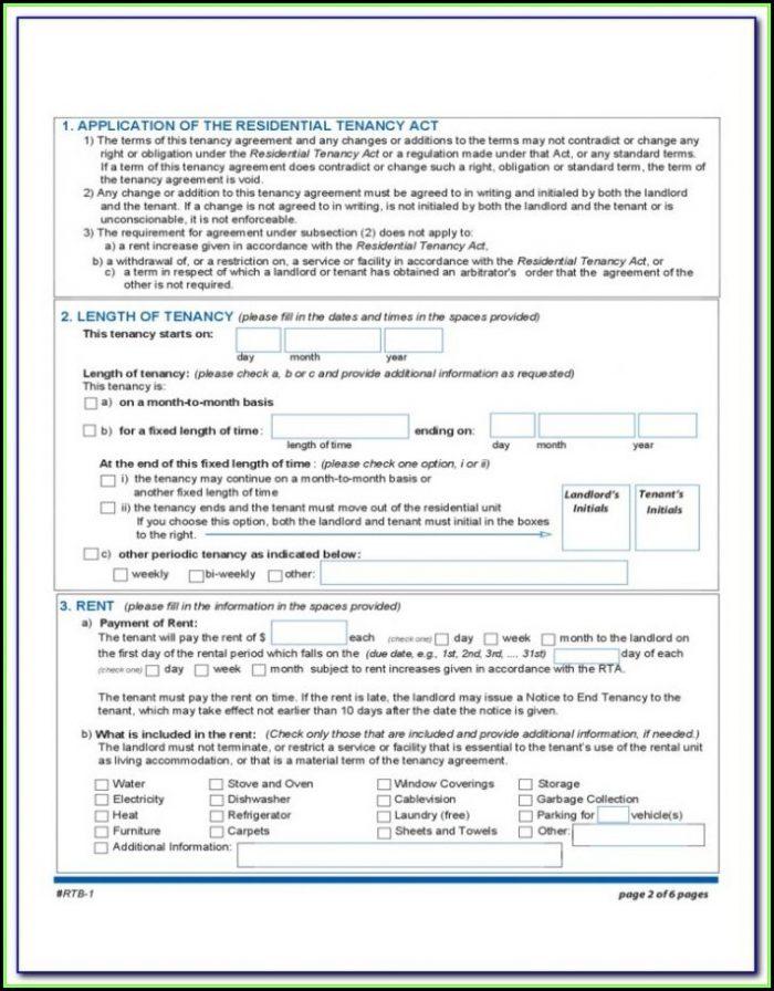 Rental Tenancy Forms Nsw