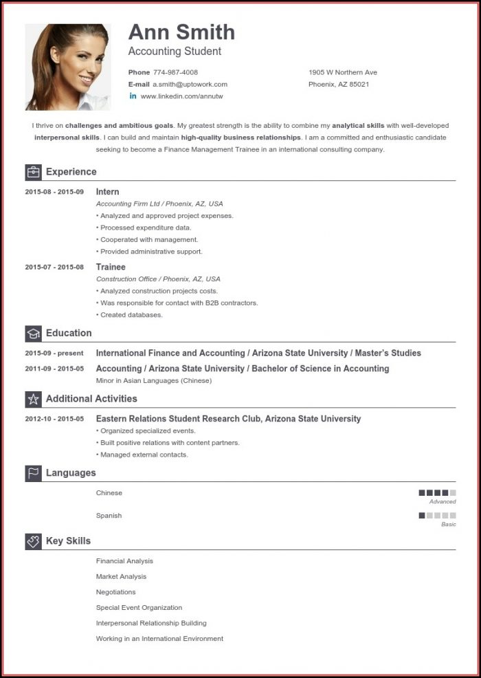 Resume Maker Online Free Download
