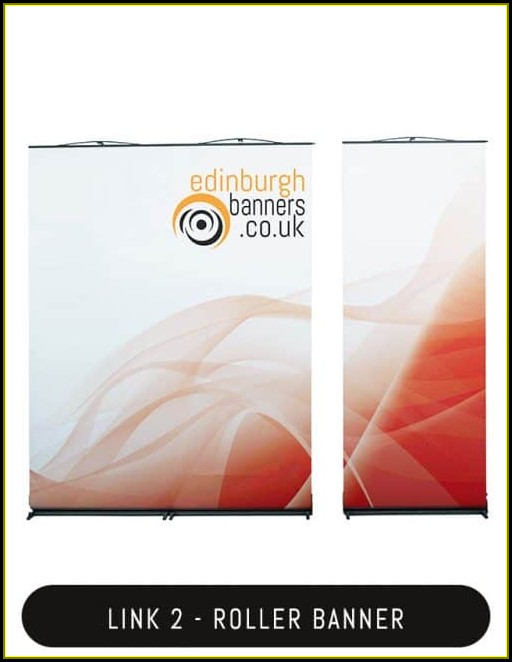 Roller Banner Template Publisher