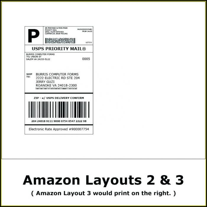 Shipping Label Template Free