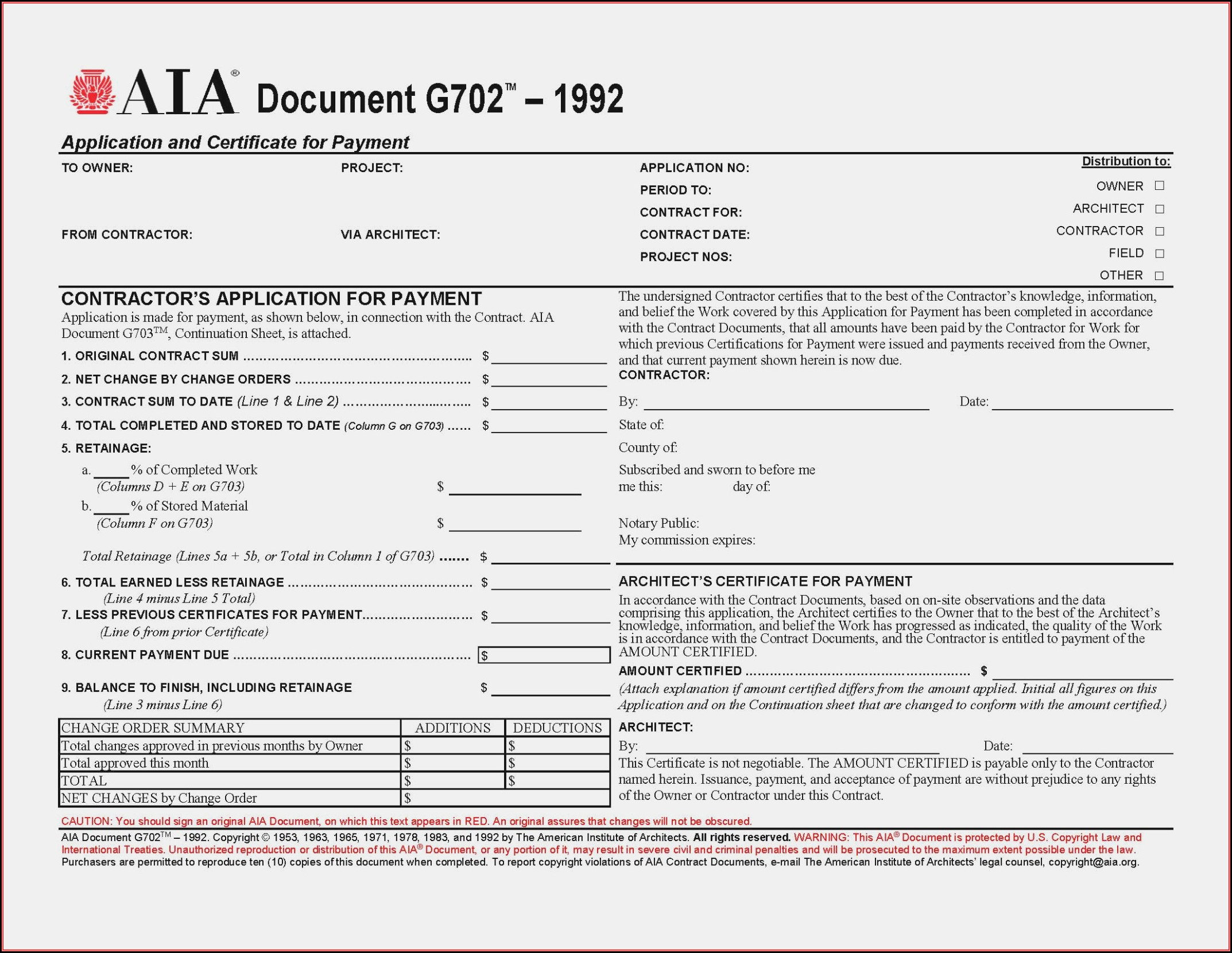 Aia G706a Form Free - Form : Resume Examples #lV8NNrn80o