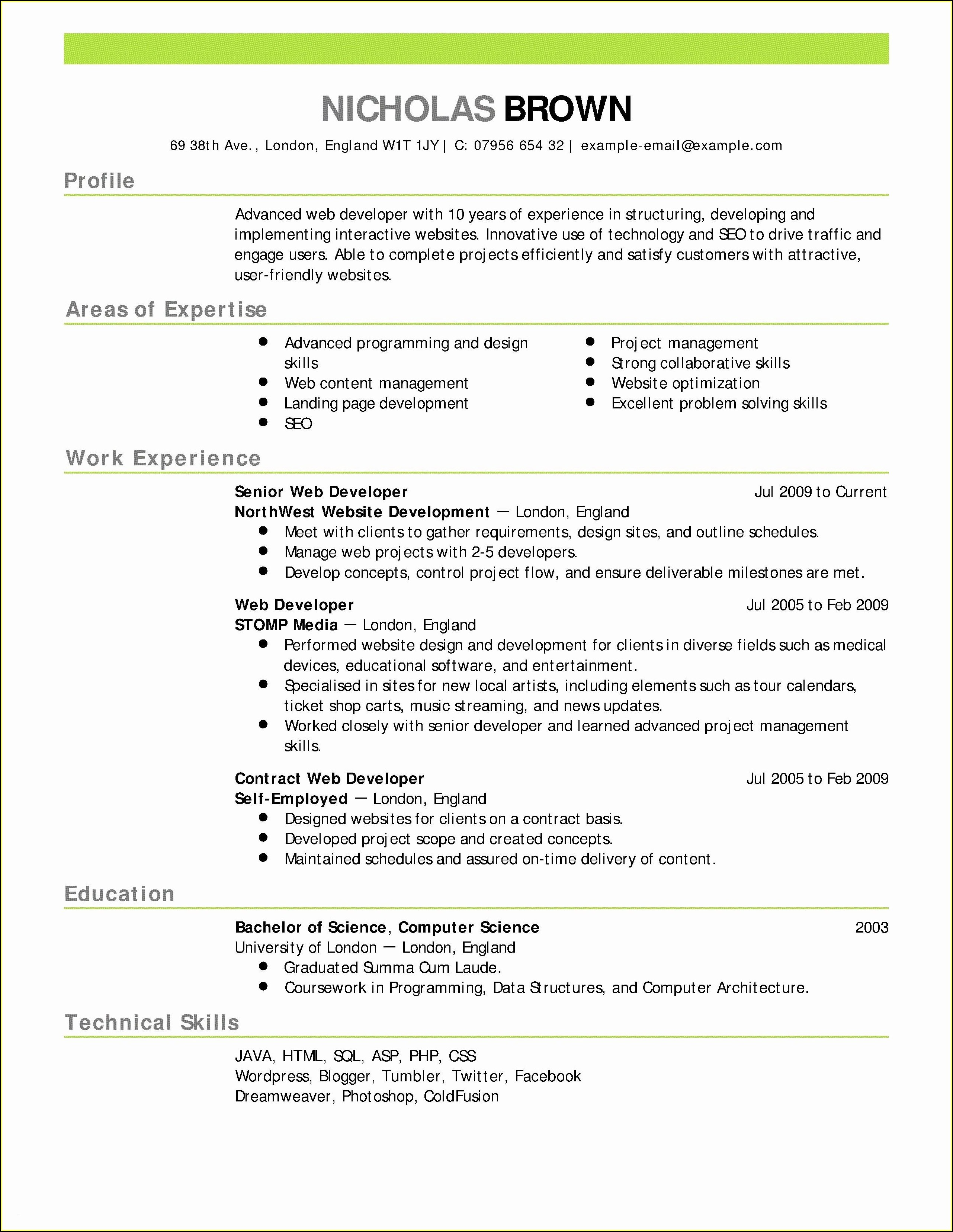 Best Resume Builder App Free