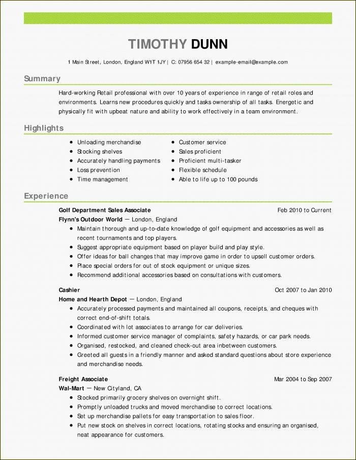 Create And Print A Free Resume