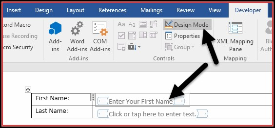 Create Fillable Forms