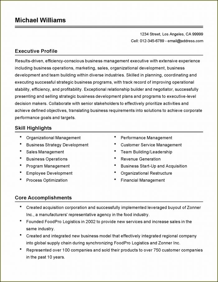 Executive Assistant Resume Builder