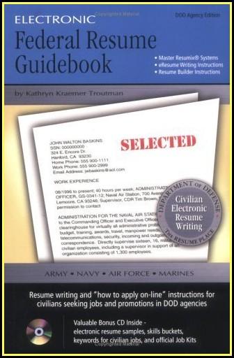 Federal Resume Guidebook By Kathryn Kraemer Troutman