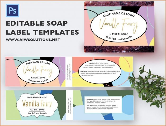 Free Vintage Soap Label Templates
