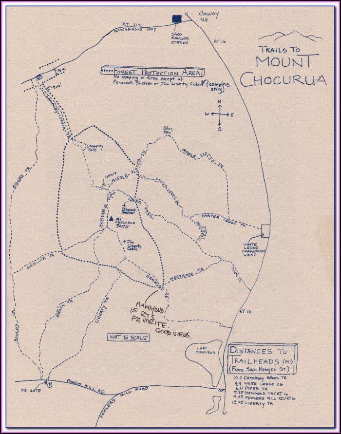 New Hampshire Atv Trail Maps