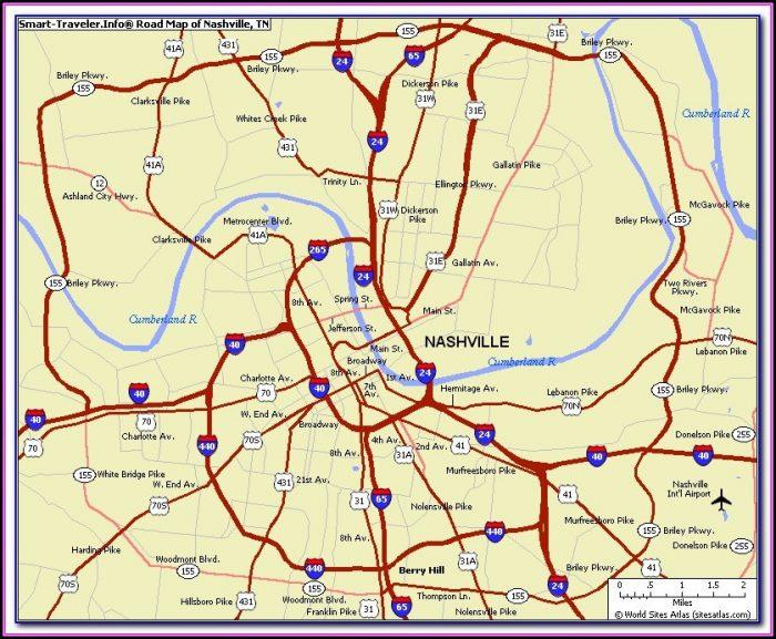 Old Maps Of Nashville Tn