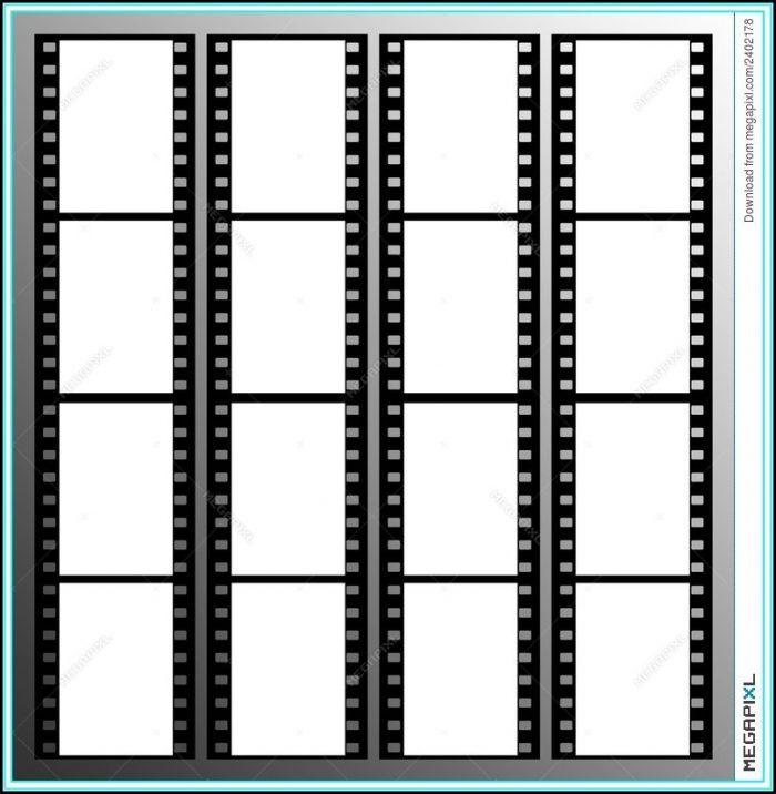 Photo Booth Strips Template Free