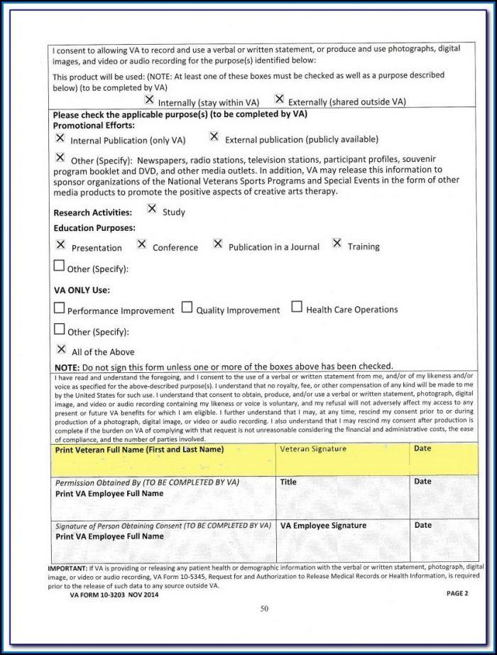 Va Fillable Form 21 4138