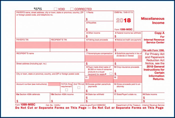 Where To Find 1099 Misc Forms