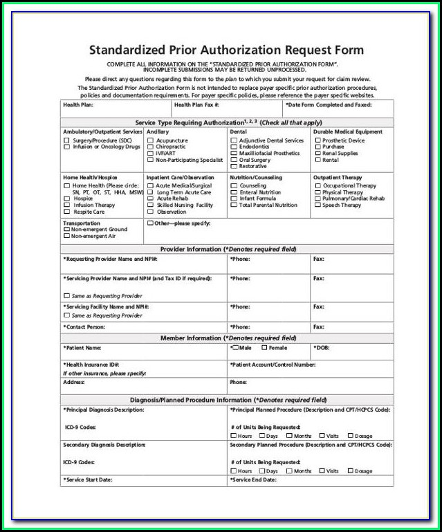 Express Scripts Prior Authorization Form For Test Strips