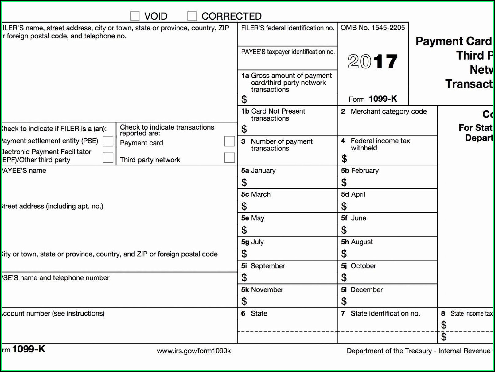 Free Fillable 1099 Misc Form 2015 Template