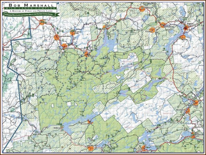 Adirondack Trail Maps High Peaks