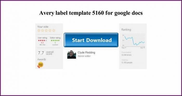 Avery Label Template 5160 For Google Docs