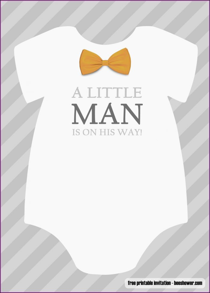 Baby Boy Shower Invitations Templates Free Download