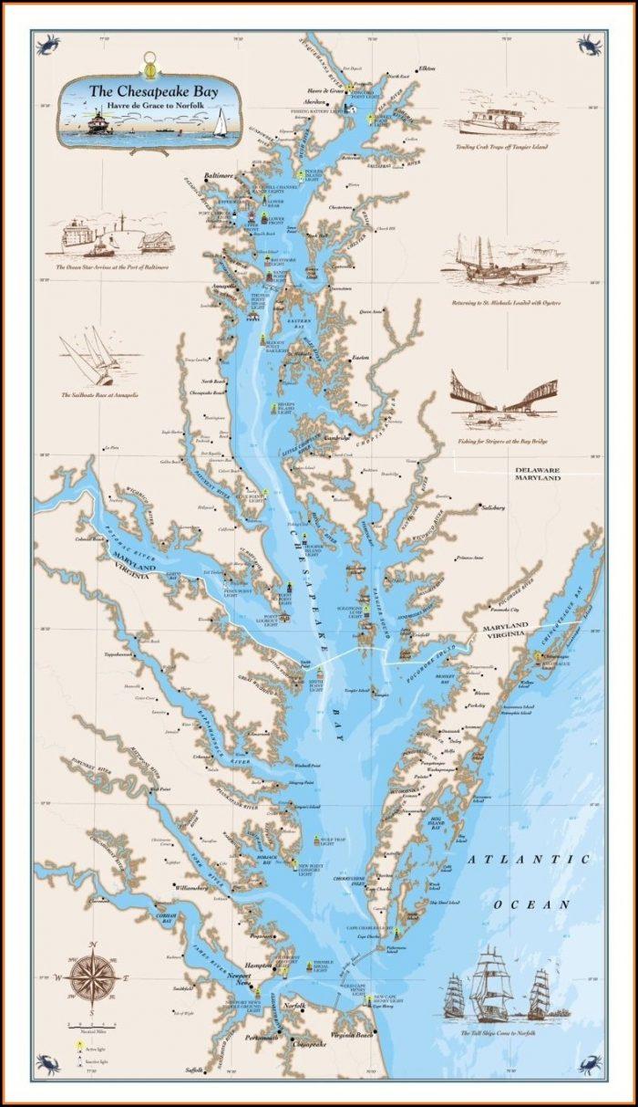 Chesapeake Bay Map
