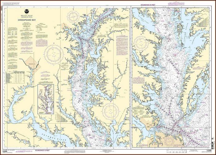 Chesapeake Bay Maps Charts
