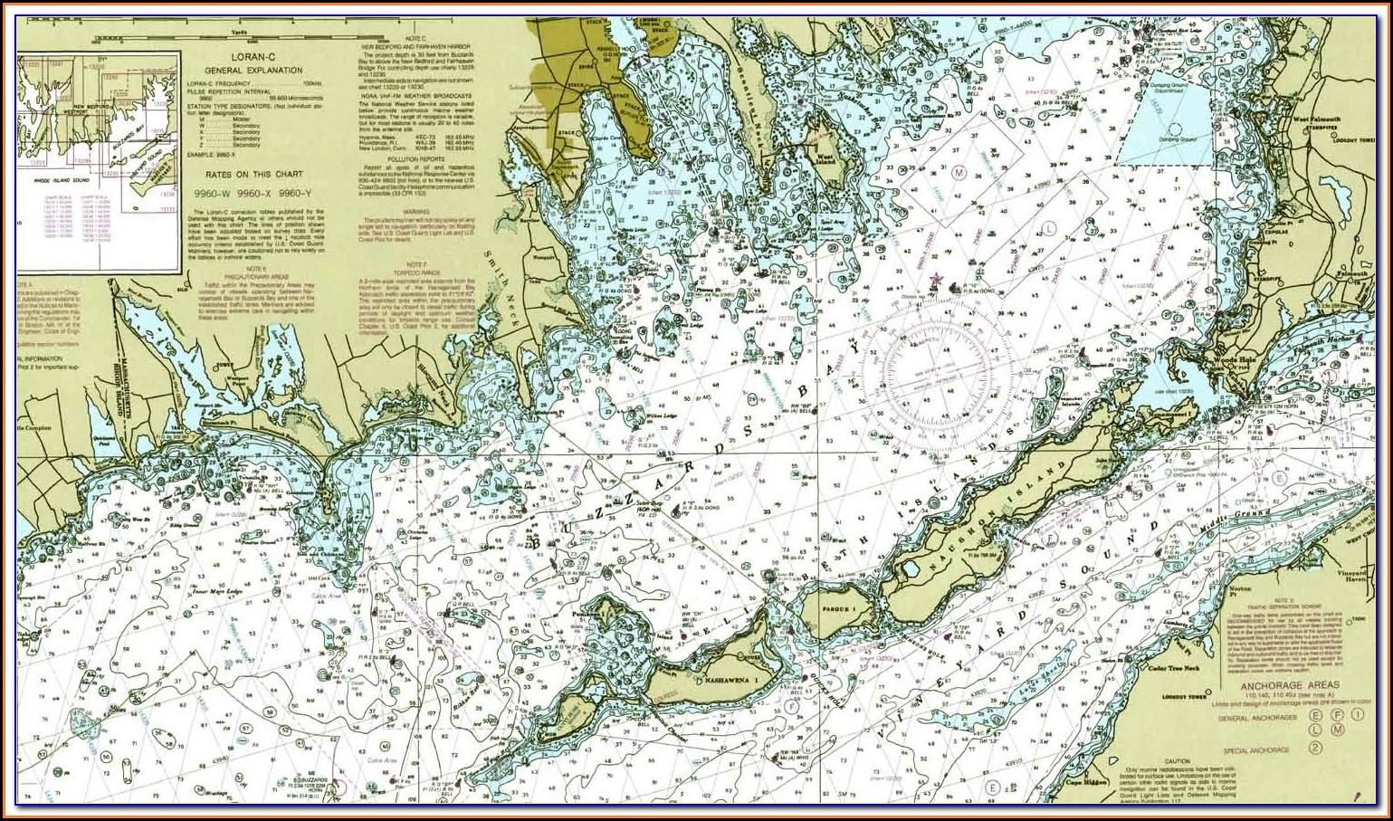 Coastal Charts And Maps