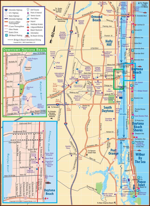 Daytona Beach Hotel Map