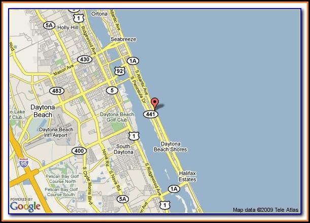 Daytona Beach Shores Hotel Address