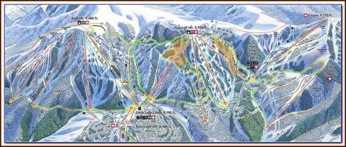 Deer Valley Hotel Map