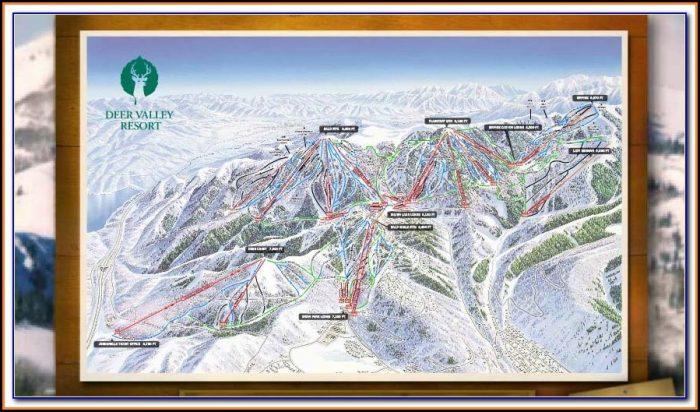 Deer Valley Lodging Map