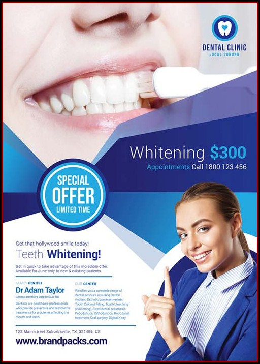 Dental Clinic Flyer Templates Free