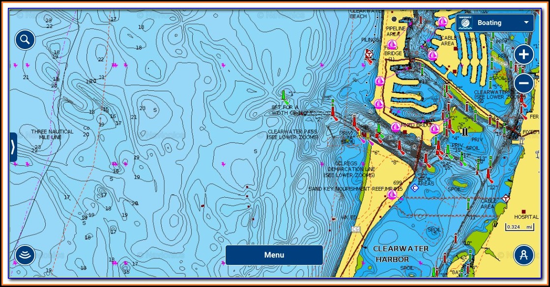 Fishing Maps For Lowrance