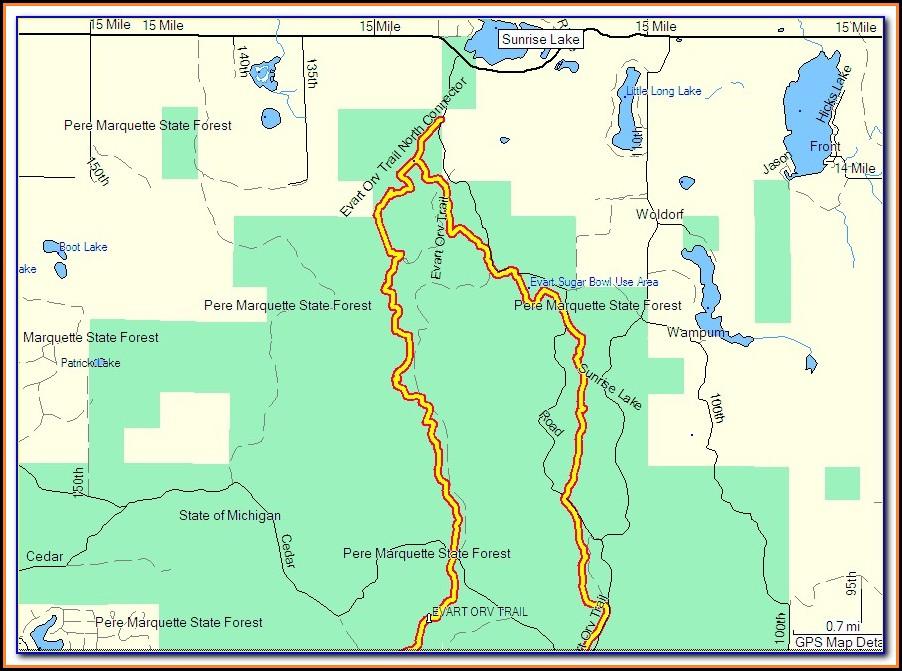 Free Michigan Snowmobile Gps Maps