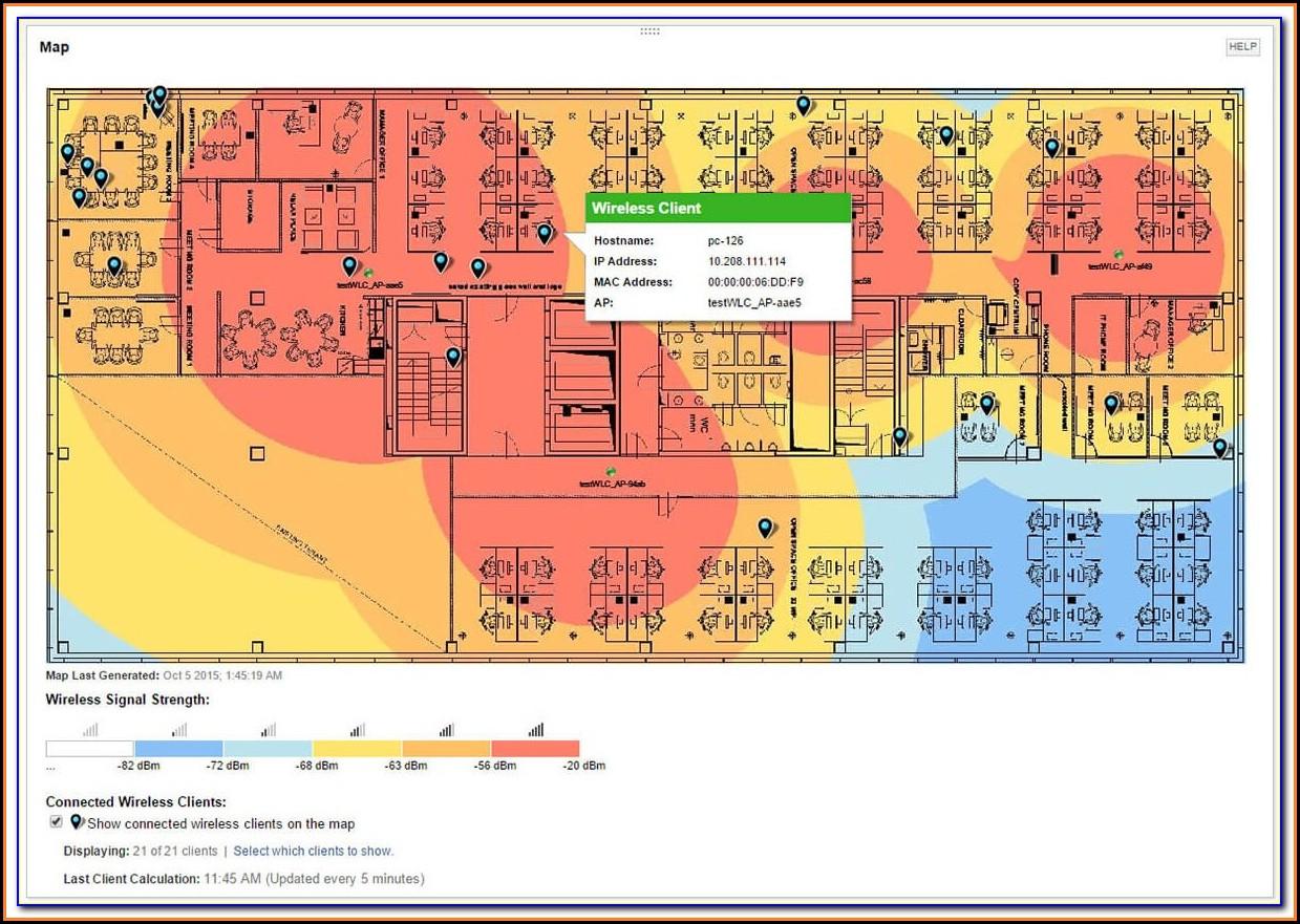Free Wifi Heat Map Software