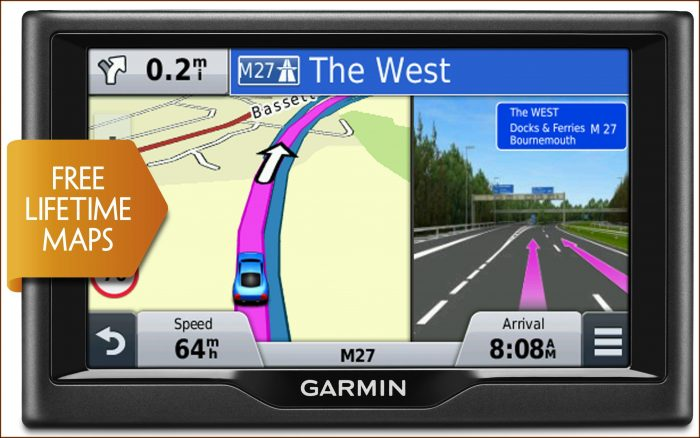Garmin Drive 60 Lifetime Maps & Traffic Europe Lmt 6