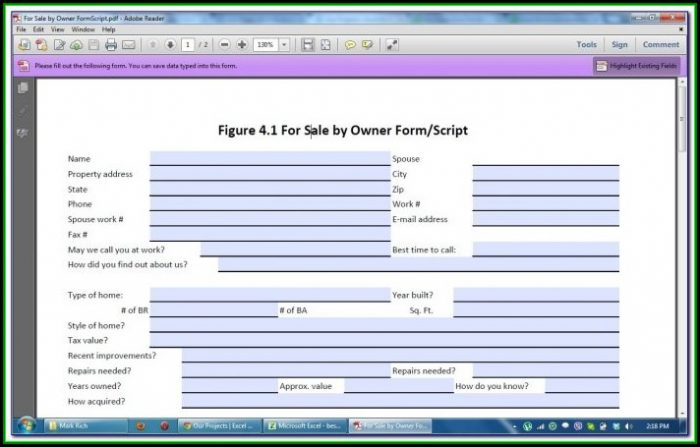 How To Create Fillable Forms In Excel