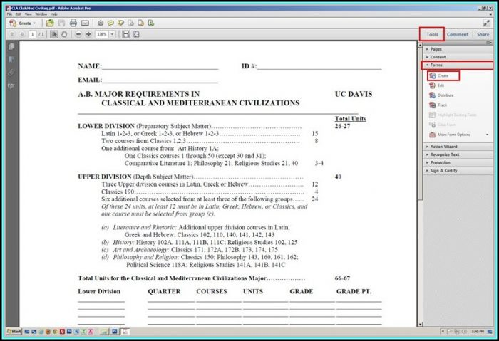Pdf Create Fillable Forms Free